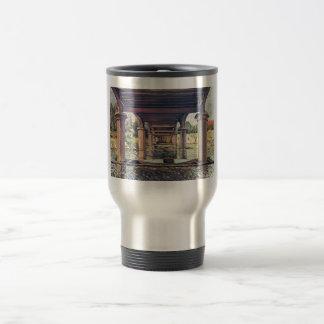 Alfred Sisley Brücke - Hampton Court 1874 Coffee Mugs