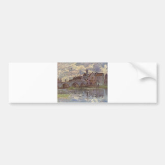 Alfred Sisley - Brücke von Moret-sur-Loing 1885 Bumper Sticker