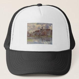 Alfred Sisley - Brücke von Moret-sur-Loing 1885 Trucker Hat