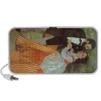 Alfred Sisley by Pierre Renoir Portable Speakers
