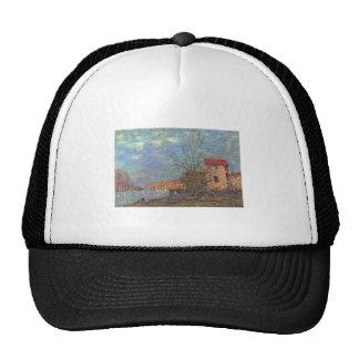 Alfred Sisley - Der Loing bei Moret 1881Oil Trucker Hat