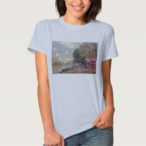 Alfred Sisley - Der Loing en Moret 1888 Camiseta