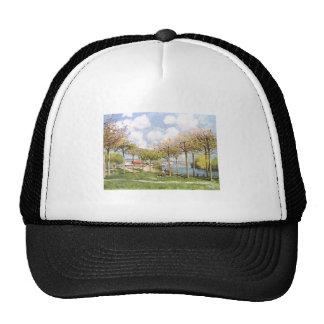 Alfred Sisley - Die Seine bei Bougival 1876 Trucker Hat