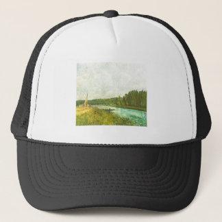 Alfred Sisley - Die Ufer der Oise 1878-1880 Trucker Hat