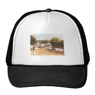 Alfred Sisley Erster Schnee in Louveciennes 1870 Trucker Hat