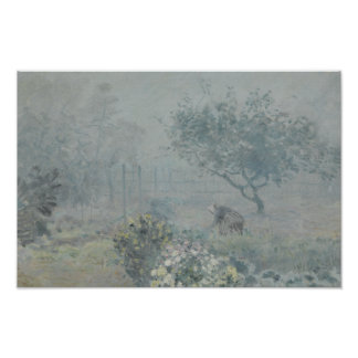 Alfred Sisley - Fog, Voisins Poster