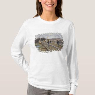 Alfred Sisley | Footbridge at Argenteuil T-Shirt