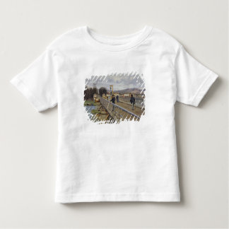 Alfred Sisley | Footbridge at Argenteuil Toddler T-shirt