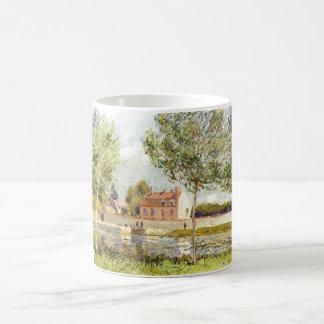 Alfred Sisley Häuser am Ufer der Loing 1889 Coffee Mugs