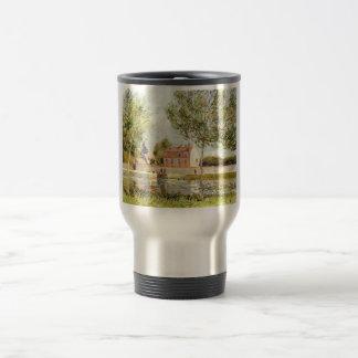 Alfred Sisley Häuser am Ufer der Loing 1889 Mugs