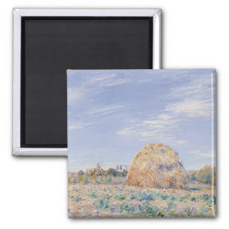 Alfred Sisley | Haystack on the Banks of the Loing Magnet