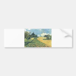 Alfred Sisley - Hügeln von Argenteuil 1873 oil Bumper Sticker