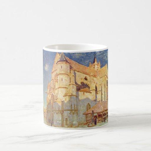 Alfred Sisley - iglesia del aceite de Kirche von Taza