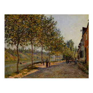Alfred Sisley - June Morning in Saint-Mammès Postcard