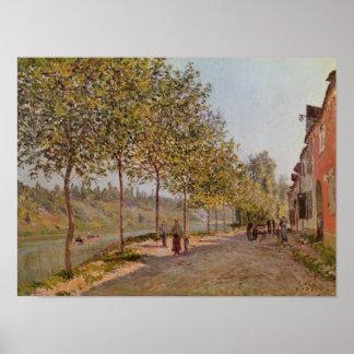 Alfred Sisley   June Morning in Saint-Mammes Poster