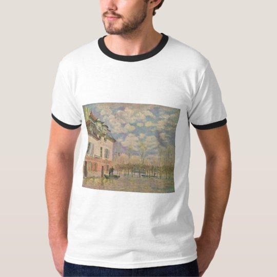 Alfred Sisley Kahn in der Überschwemmung 1876 T-Shirt