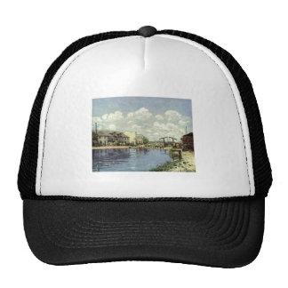 Alfred Sisley - Kanal - Le canal Saint-Martin 1872 Trucker Hat
