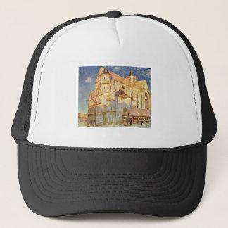 Alfred Sisley -  Kirche von Moret 1893 Oil Church Trucker Hat