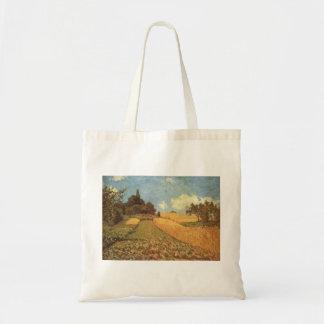 Alfred Sisley Kornfeld 1873 - Cornfield Oil Tote Bag