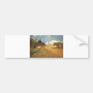 Alfred Sisley Kornfeld 1873 - Cornfield Oil Bumper Sticker