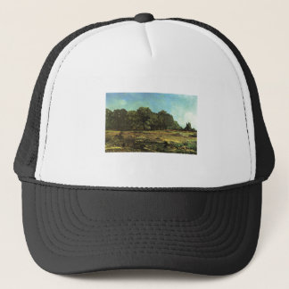 Alfred Sisley - La Celle-Saint-Cloud 1865 Chestnut Trucker Hat