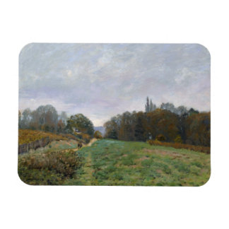 Alfred Sisley - Landscape at Louveciennes Magnet