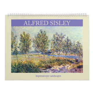 Alfred Sisley Landscapes Calendar