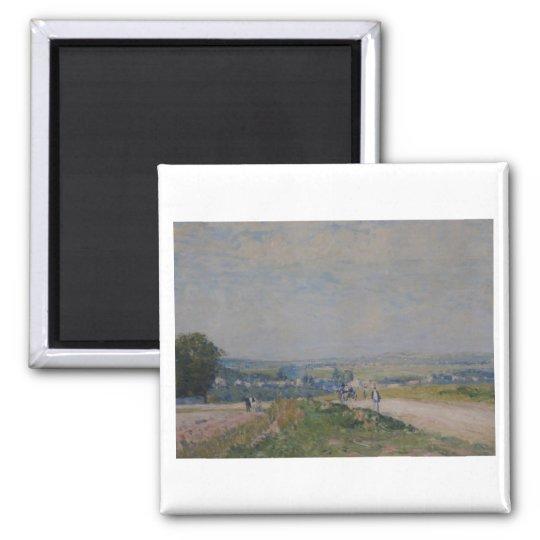 Alfred Sisley -Le Chemin de Montbuisson à Louveci Magnet