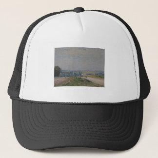 Alfred Sisley -Le Chemin de Montbuisson à Louveci Trucker Hat