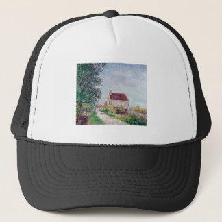 Alfred Sisley - Le village des Sablons 1885 Oil Trucker Hat