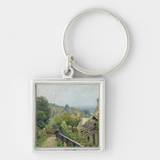 Alfred Sisley | Louveciennes, The Heights at Marly Keychain