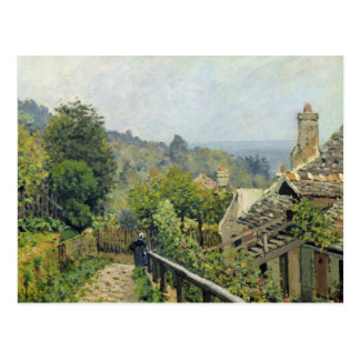 Alfred Sisley   Louveciennes, The Heights at Marly Postcard