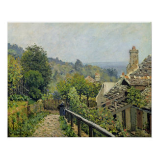 Alfred Sisley | Louveciennes, The Heights at Marly Poster