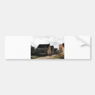 Alfred Sisley Marlotte Street - Women to the Woods Bumper Sticker