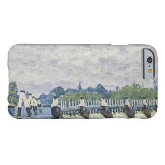 Alfred Sisley - Molesey Weir, Hampton Court Barely There iPhone 6 Case