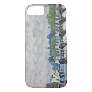 Alfred Sisley - Molesey Weir, Hampton Court iPhone 8/7 Case