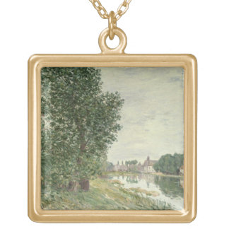 Alfred Sisley | Moret-sur-Loing Gold Plated Necklace