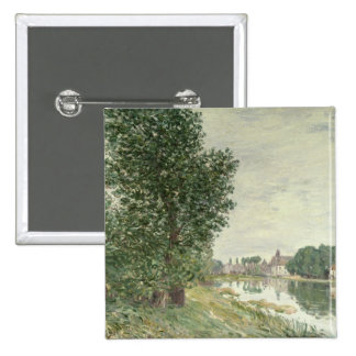 Alfred Sisley | Moret-sur-Loing Pinback Button