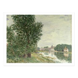 Alfred Sisley   Moret-sur-Loing Postcard