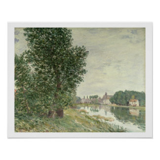 Alfred Sisley | Moret-sur-Loing Poster