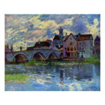 Alfred Sisley - Moret-sur-Loing Print