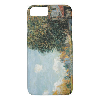 Alfred Sisley - Moret-The Banks of the River Loing iPhone 8/7 Case