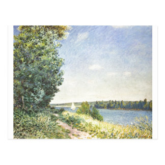 Alfred Sisley - Normandie 1894 Oil on Canvas Post Cards