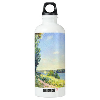Alfred Sisley - Normandy path on the water in the SIGG Traveler 0.6L Water Bottle