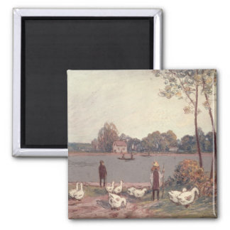 Alfred Sisley | On the Banks of the Loing Magnet