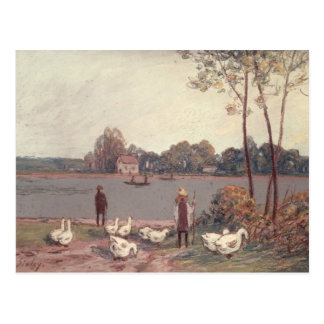 Alfred Sisley | On the Banks of the Loing Postcard