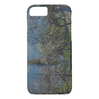 Alfred Sisley - Orchard in Spring, By iPhone 8/7 Case