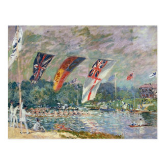 Alfred Sisley   Regatta at Molesey Postcard