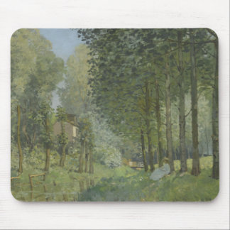 Alfred Sisley - Rest along the Stream Mouse Pad