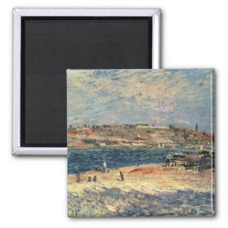Alfred Sisley | River Banks at Saint-Mammes Magnet